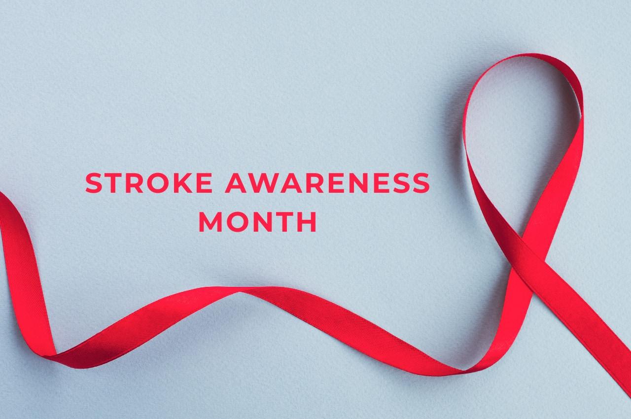 Stroke Awareness Month Ribbon